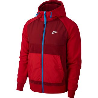 Nike NSW CE Trainingsjacke Herren team red-gym red-lt photo blue-white