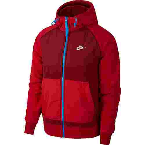 Nike NSW CE Sweatjacke Herren team red-gym red-lt photo blue-white
