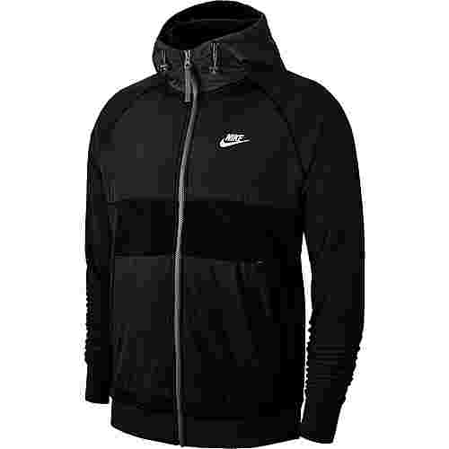 Nike NSW CE Sweatjacke Herren black-off noir-black-white