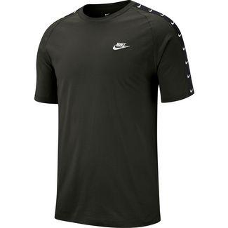 Nike NSW HBR Swoosh 2 T-Shirt Herren sequoia-white