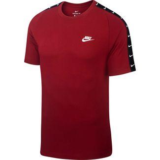 Nike NSW HBR Swoosh 2 T-Shirt Herren team red-white