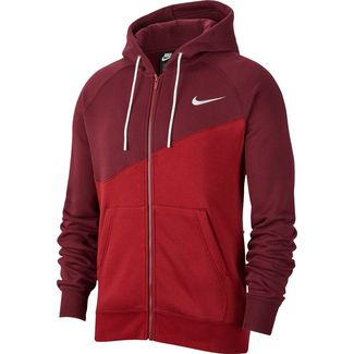 Nike NSW Swoosh Sweatjacke Herren team red-night maroon-white
