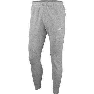 Nike NSW Club Sweathose Herren dk grey heather-matte silver-white