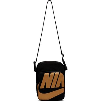 Nike Heritage 2.0 Umhängetasche black-black-metallic gold