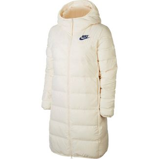 Nike NSW Steppjacke Damen pale ivory-pale ivory-blue void