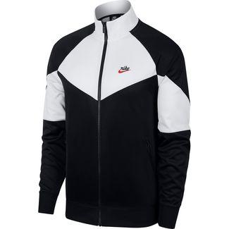 Nike NSW Windrunner Polyjacke Herren black-summit white-black