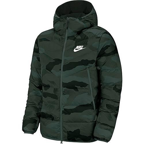 Nike NSW Windrunner Steppjacke Herren dark grey black sail im Online Shop von SportScheck kaufen