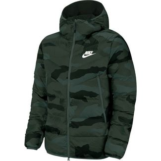 Nike NSW Windrunner Steppjacke Herren dark grey-black-sail