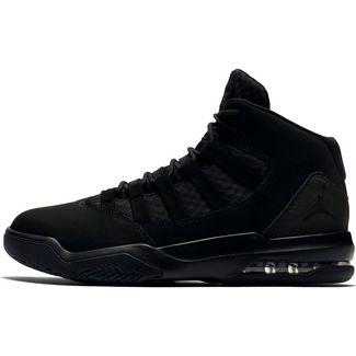 Nike Jordan Max Aura Basketballschuhe Herren black-black
