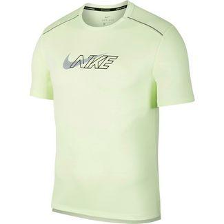Nike Dryfit Miler Flash Funktionsshirt Herren barely volt-reflective silv