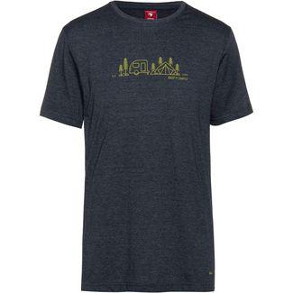 OCK Printshirt Herren dunkelgrau