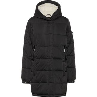Superdry Sphere Steppmantel Damen worn black