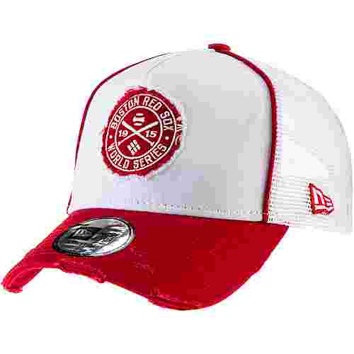 New Era Boston Red Sox Cap optic white-scarlet