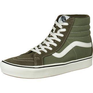 Vans Sk8-Hi ComfyCush Reissue Sneaker Herren dunkelgrün / weiß