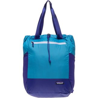 Patagonia Ultralight Black Hole Tote Pack Umhängetasche curacao blue