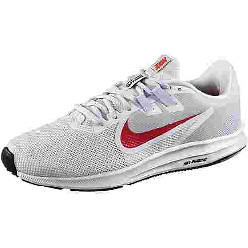 Nike Downshifter 9 Laufschuhe Damen white-red orbit-half blue-black