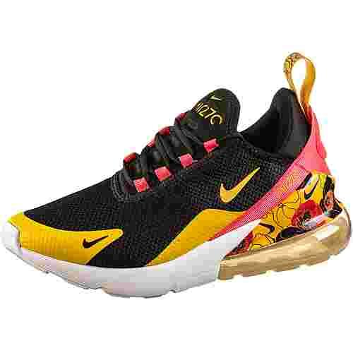 Nike Air Max 270 Sneaker Damen black-university gold-bright crimson