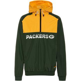 New Era Green Bay Packers Windbreaker Herren cilantro green