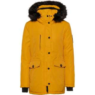 Superdry Ashley Everest Parka Damen amber ochre