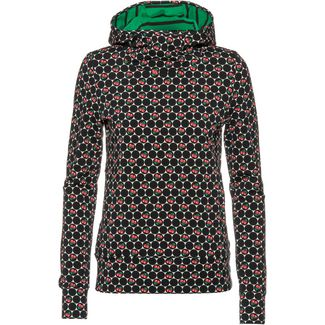 Blutsgeschwister Riders in the Universe Hoodie Damen super cherry dot