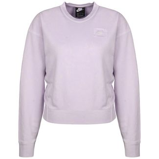 Nike Sportswear Crew FT Rebel Sweatshirt Damen flieder