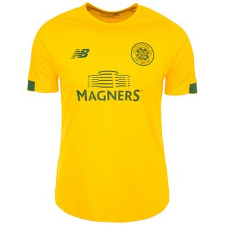 NEW BALANCE Celtic Glasgow On Pitch Fanshirt Herren gelb