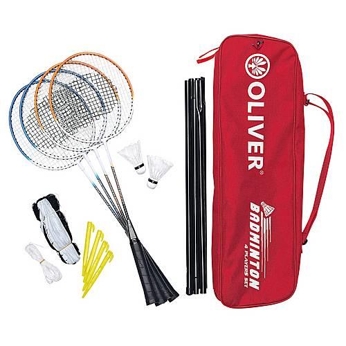 oliver badminton set bunt im online shop von sportscheck kaufen. Black Bedroom Furniture Sets. Home Design Ideas