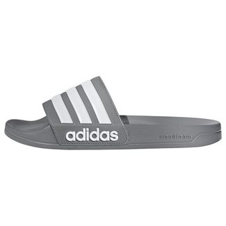adidas Adilette Cloudfoam Slipper Badelatschen Herren Grey Three / Cloud White / Grey Three