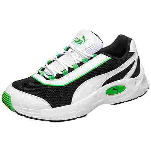 PUMA Nucleus Sneaker Herren schwarz / grün