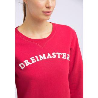 DreiMaster Sweatshirt Damen dunkelrot