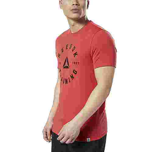 Reebok GS Training Speedwick T-Shirt Funktionsshirt Herren Rebel Red