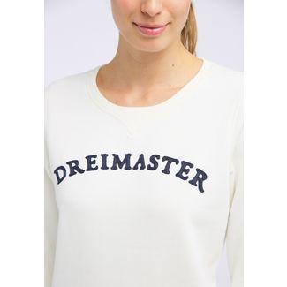 DreiMaster Sweatshirt Damen wollweiß