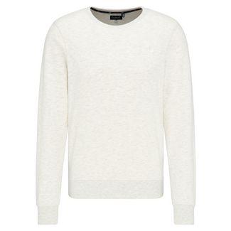 DreiMaster Sweatshirt Herren wollweiß melange