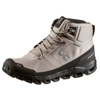 ON Cloudrock Waterproof Wanderschuhe Herren Sand-Black