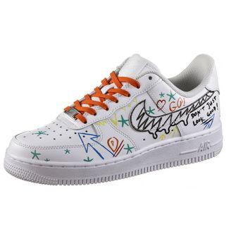 Nike Air Force 1 Born Originals x SportScheck Sneaker Damen white-born originals designed
