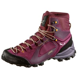 SALEWA WS Alpenviolet Mid GTX® Wanderschuhe Damen red plum-orange popsicle
