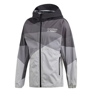 adidas Troy Lee Regenjacke Funktionsjacke Herren Grey Two