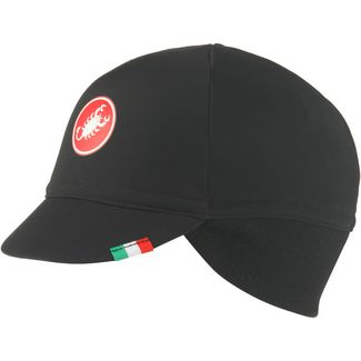 castelli DIFESA THERMAL CAP Cap black-red