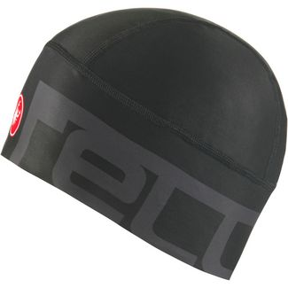 castelli VIVA 2 THERMO Helmmütze light black