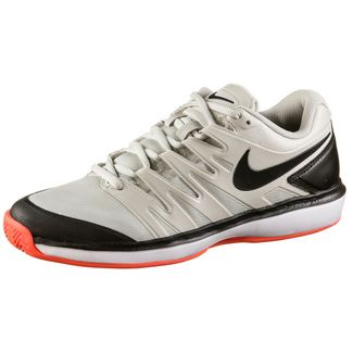Nike AIR ZOOM PRESTIGE CLY Tennisschuhe Herren light bone-black-hot lava-white