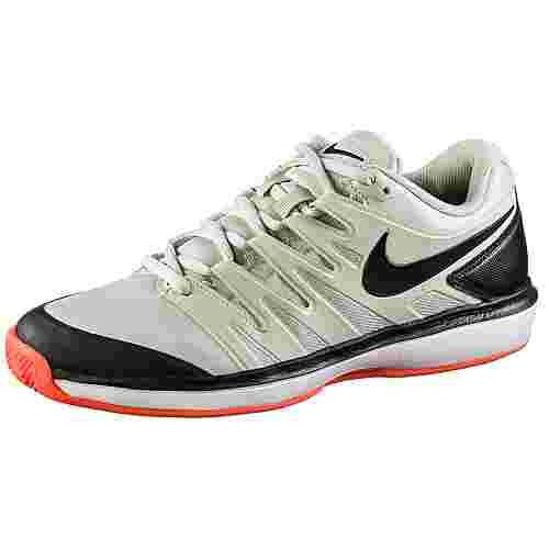 Nike AIR ZOOM PRESTIGE CLY Tennisschuhe Herren light bone-black-hot lava-white
