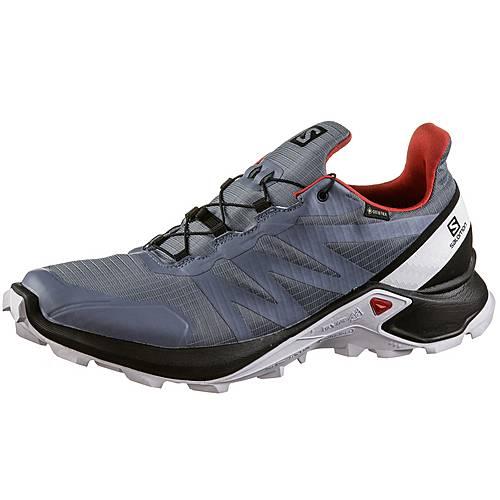 Salomon Supercross Trailrunning Schuhe Herren flint black high risk red im Online Shop von SportScheck kaufen