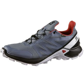 Salomon GTX® Supercross Trailrunning Schuhe Herren flint-black-high risk red