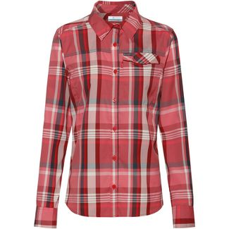 Columbia Silver Ridge 2.0 Funktionsbluse Damen red lily plaid
