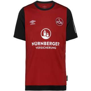 UMBRO FC Nürnberg 19/20 Heim Trikot Herren biking red / black / brilliant white