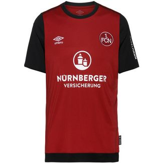 UMBRO FC Nürnberg 19/20 Heim Fußballtrikot Herren biking red / black / brilliant white