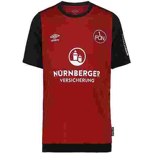 UMBRO FC Nürnberg 19/20 Heim Trikot Herren biking red / black / brilliant white