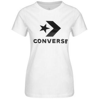 CONVERSE Star Chevron T-Shirt Damen weiß
