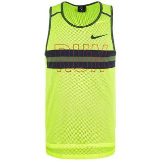 Nike Wild Run Tanktop Herren neongelb