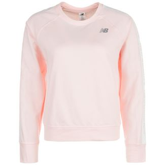 NEW BALANCE Relentless Crew Sweatshirt Damen rosa